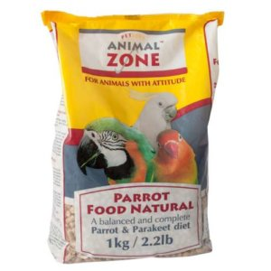 Animal Zone Parrot Food Natural 1Kg