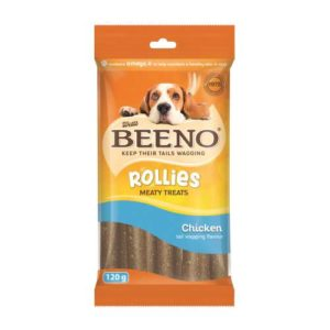 Beeno Rollies With Chicken 120G