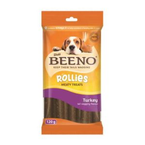 Beeno Rollies With Turkey 120G