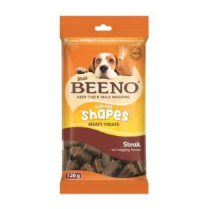 Beeno Shapes With Steak Flavour 120G