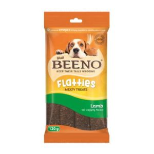 Beeno Flatties With Lamb Flavour 120G