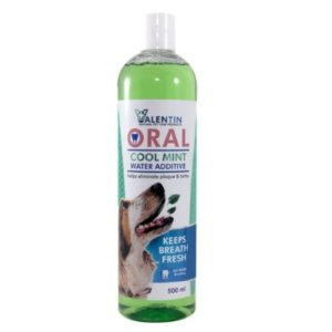 Valentin Oral Cool Mint Water Additive For Dogs