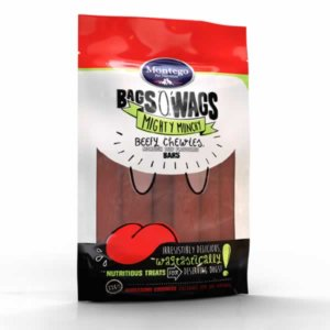 Bag O'Wags Chewies Beef Bars 120G