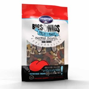 Bag O'Wags Chewies Mini Bones 120G